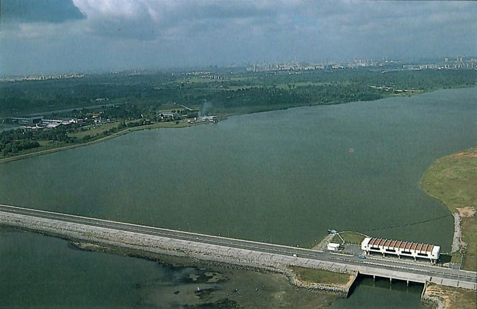 Spillway System and Reservoir Development of the Lower Seletar Dam for PUB